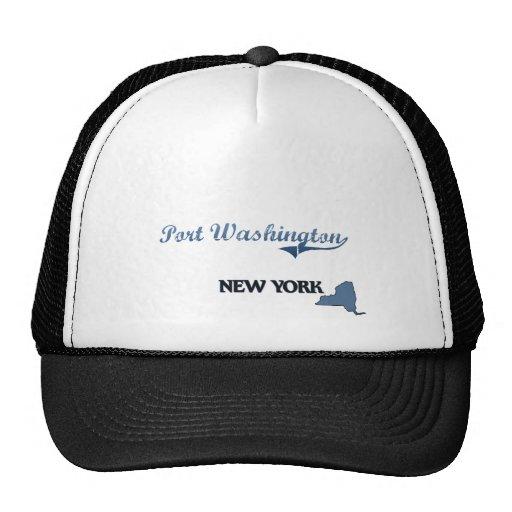 Port Washington New York City Classic Trucker Hat
