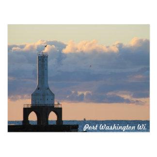 Port Washington, Wi. Postcard