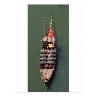 Port Wine Boat Postcard