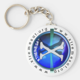 Porta Chaves Basic Round Button Keychain