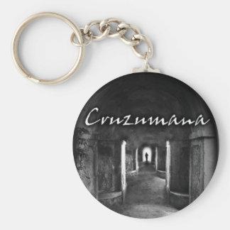 Porta-chaves Cruzumana Basic Round Button Keychain