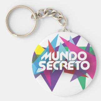 Porta-Chaves Mundo Secreto Basic Round Button Keychain
