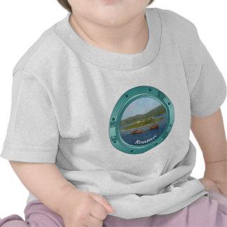 Porta de Roatan Camisetas
