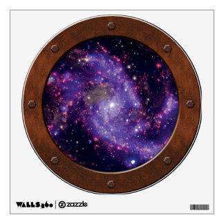 Porta de Steampunk de la galaxia de los fuegos Vinilo