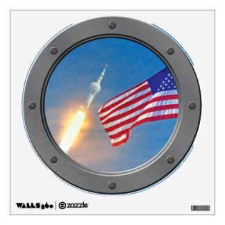 Porta del lanzamiento de Apolo 11 Vinilo Decorativo
