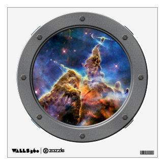 Porta mística de la montaña de la nebulosa de vinilo adhesivo