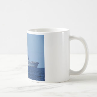Portaaviones ligeros taza básica blanca