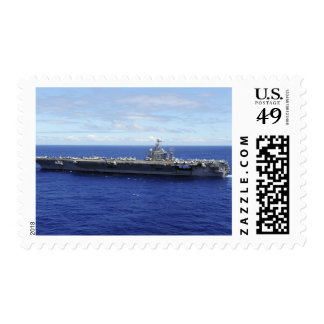 Portaaviones USS Abraham Lincoln 2 Timbres Postales