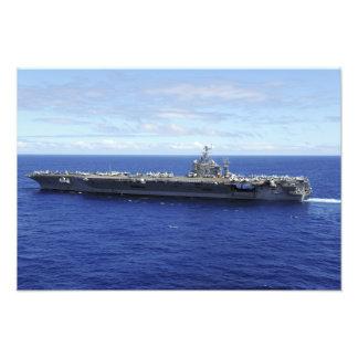 Portaaviones USS Abraham Lincoln Arte Fotográfico