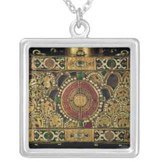 Portable altar of St. Andrew Square Pendant Necklace