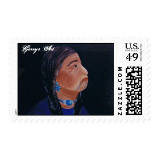 PORTABLE ART POSTAGE STAMPS