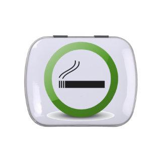 Portable Ashtray Candy Tin