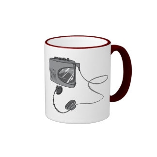Portable Cassette Tape Player Coffee Mugs