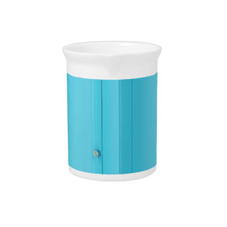 Portable chemical toilet beverage pitcher