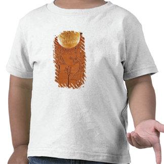 Portable chest, detail of Tutankhamun Shirts