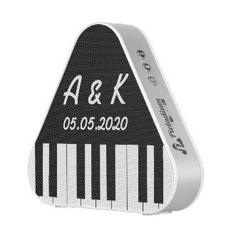 Portable conmemorativo del boda del teclado de altavoz bluetooth