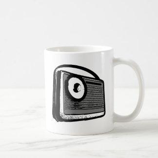 PORTABLE DE LA RADIO DE TRANSISTOR TAZA DE CAFÉ