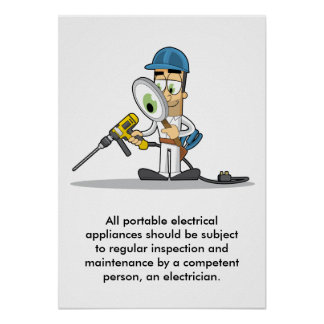 Portable Electrical Appliances 001 Poster
