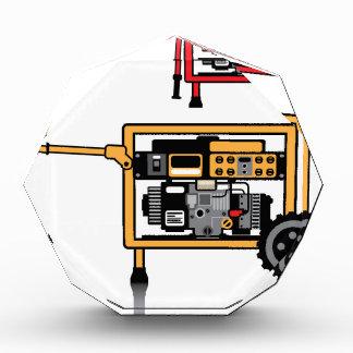 Portable Generator vector Acrylic Award