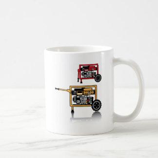 Portable Generator vector Coffee Mug