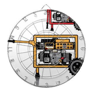 Portable Generator vector Dartboard