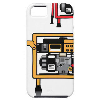 Portable Generator vector iPhone SE/5/5s Case