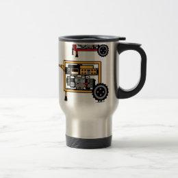 Portable Generator vector Travel Mug