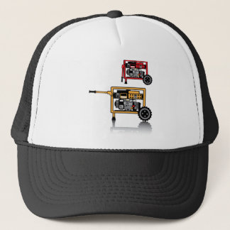 Portable Generator vector Trucker Hat