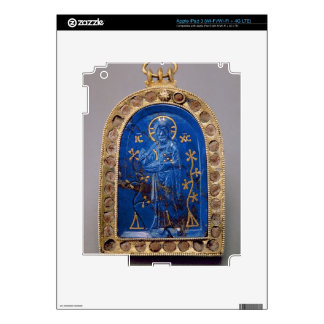 Portable Icon, probably medieval (lapis lazuli) Decals For iPad 3