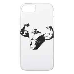 Portable machoman iPhone 8/7 case