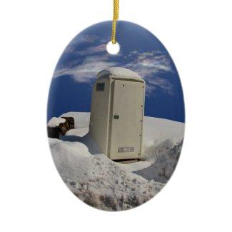 Portable Potty ~ ornament ornament