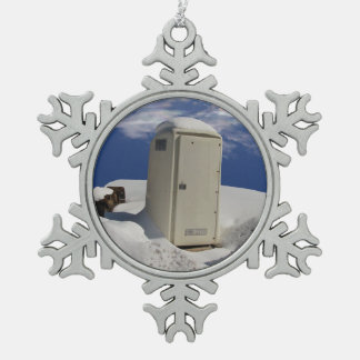 Portable Potty ~ Pewter ornament