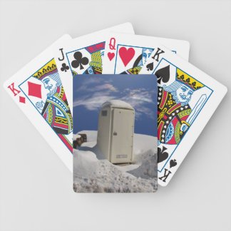 Portable Potty ~ Playing Cards