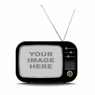 Portable Retro Television Statuette