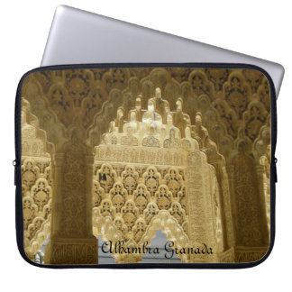Portable stock market Alhambra Granada Laptop Sleeve