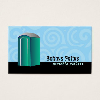 Portable Toilets Business cards
