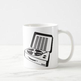 portable turntable coffee mug