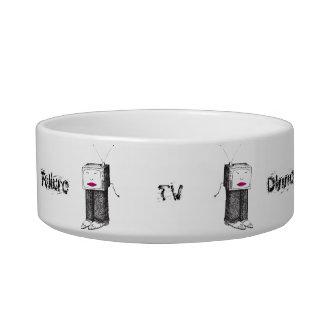 Portable TV Dinner Cat Bowl
