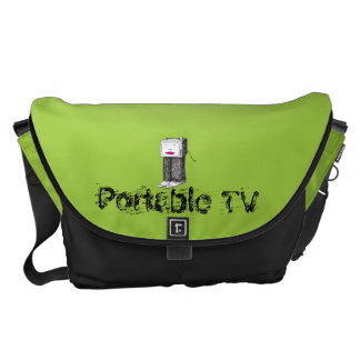 Portable TV large Courier Bag