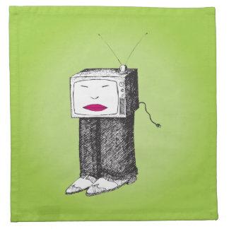 Portable TV Napkin