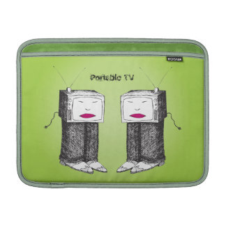 """Portable TV on Demand 13"""" Sleeves For MacBook Air"""