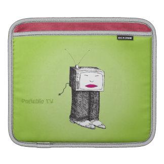 Portable TV on Demand iPad Sleeve