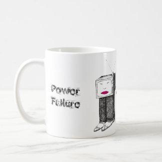 Portable TV Power Failure Coffee Mug