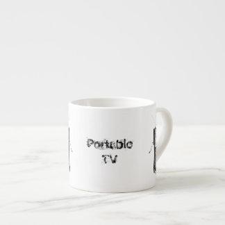Portable TV Power Failure Espresso Cup