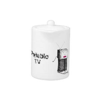 Portable TV Power Failure Teapot