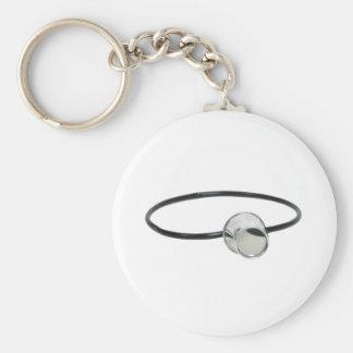 PortableLens072209 Basic Round Button Keychain