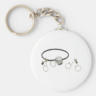 PortableLenses072209 Basic Round Button Keychain
