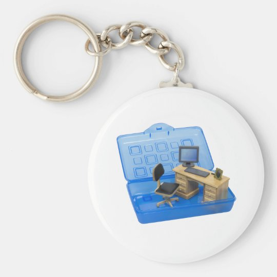 PortableOffice072709 Keychain