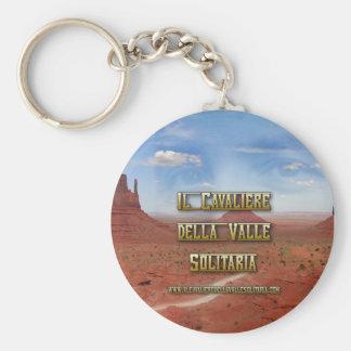 """Portachiavi """"Il Cavaliere della Valle Solitaria"""" Basic Round Button Keychain"""