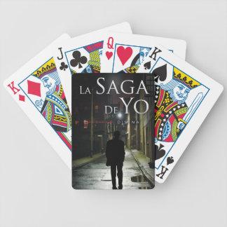 "Portada de ""Justicia Divina"" por Joel Puga Bicycle Playing Cards"